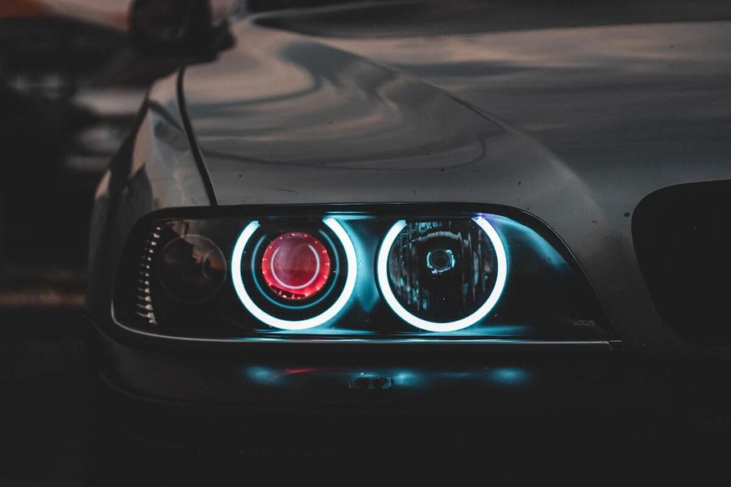 Aufbereitete Scheinwerfer BMW